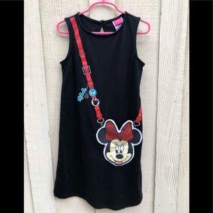 Minnie Purse Design Girls Tank Top Dress